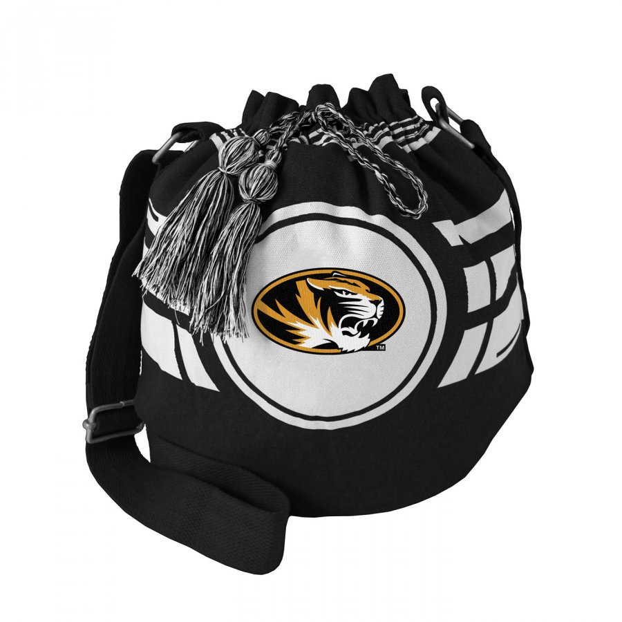 Missouri Tigers Ripple Drawstring Bucket Bag