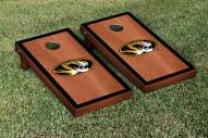 Missouri Tigers Rosewood Stained Border Cornhole Game Set