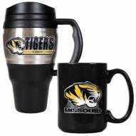 Missouri Tigers Travel Mug & Coffee Mug Set