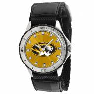 Missouri Tigers Veteran Velcro Mens Watch