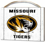 Missouri Tigers Weathered Logo Small Plaque