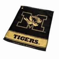 Missouri Tigers Woven Golf Towel