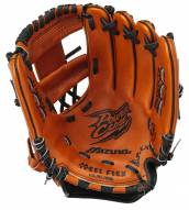 "Mizuno GPL1100Y2 Prospect Leather 11"" Youth Utility Baseball Glove - Left Hand Throw"
