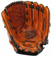 "Mizuno GPL1150Y2 Prospect Leather 11.5"" Youth Utility Baseball Glove - Left Hand Throw"