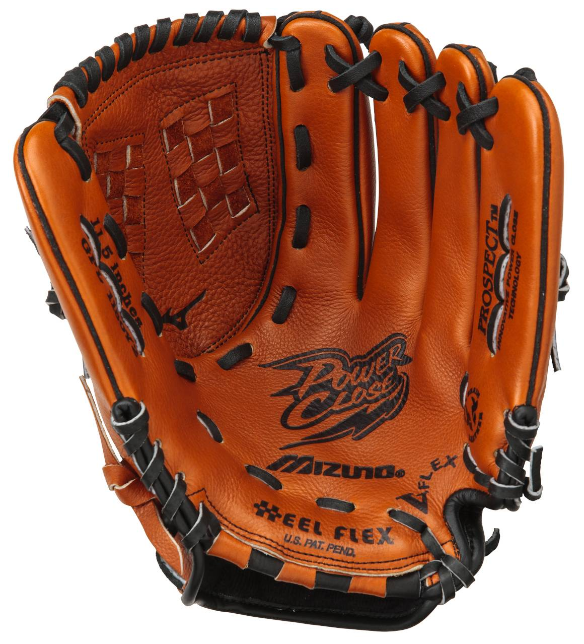 "Mizuno GPL1150Y2 Prospect Leather 11.5"" Youth Utility ..."