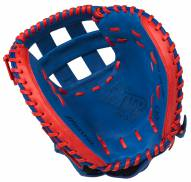 "Mizuno GXS50PSE5 MVP Prime SE 34"" Fastpitch Catcher's Mitt - Right Hand Throw"