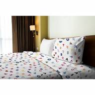 MLB Anthem Twin Bed Sheets