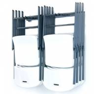 Monkey Bars Small Folding Chair Rack