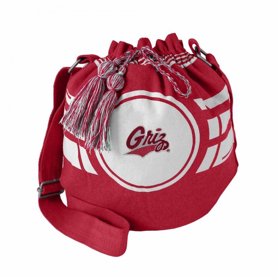 Montana Grizzlies Ripple Drawstring Bucket Bag