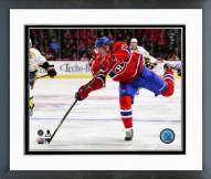 Montreal Canadiens Dale Weise 2014-15 Action Framed Photo