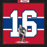 Montreal Canadiens Henri Richard Uniframe Framed Jersey Photo
