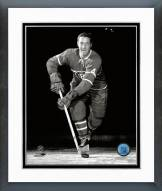 Montreal Canadiens Jean Beliveau Posed Framed Photo
