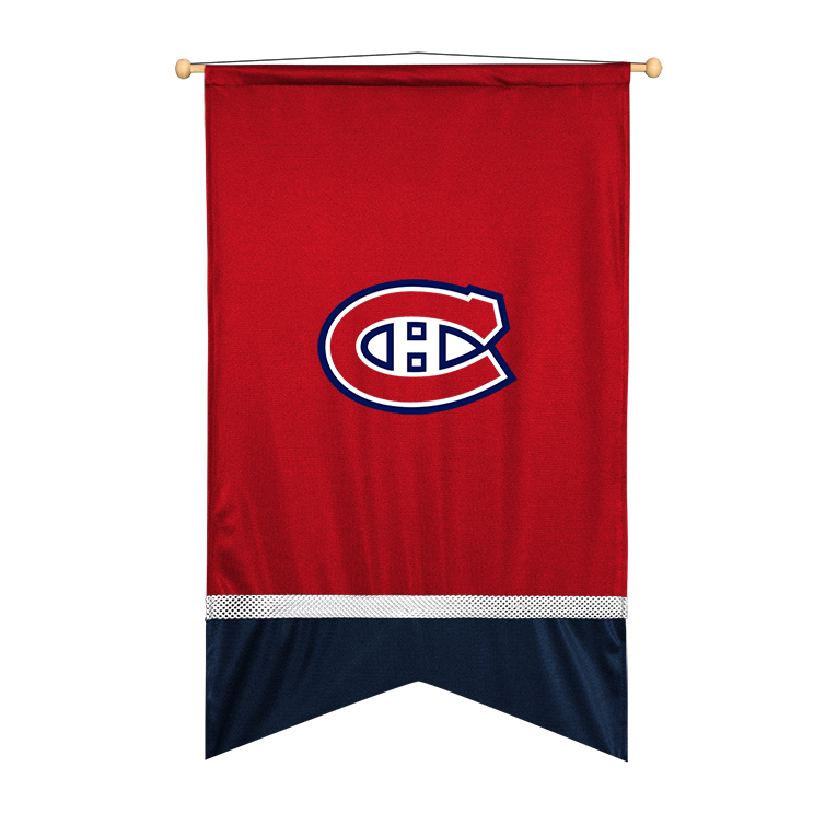 Montreal Canadiens Sidelines Wall Flag