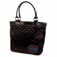 Montreal Canadiens Sport Noir Quilted Tote
