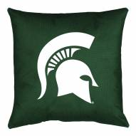 Michigan State Spartans NCAA Locker Room Toss Pillow