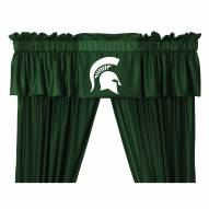 Michigan State Spartans NCAA Jersey Window Valance