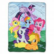 My Little Pony Micro Raschel Throw Blanket