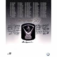 """Cy Young Award Winners """"Cy Turns 50"""" (21 Signatures) Signed 16"""" x 20"""" Photo"""