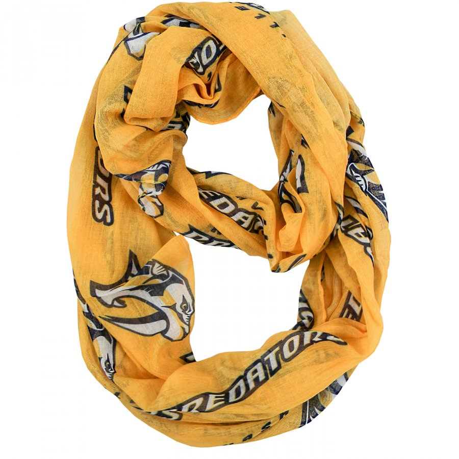 Nashville Predators Alternate Sheer Infinity Scarf