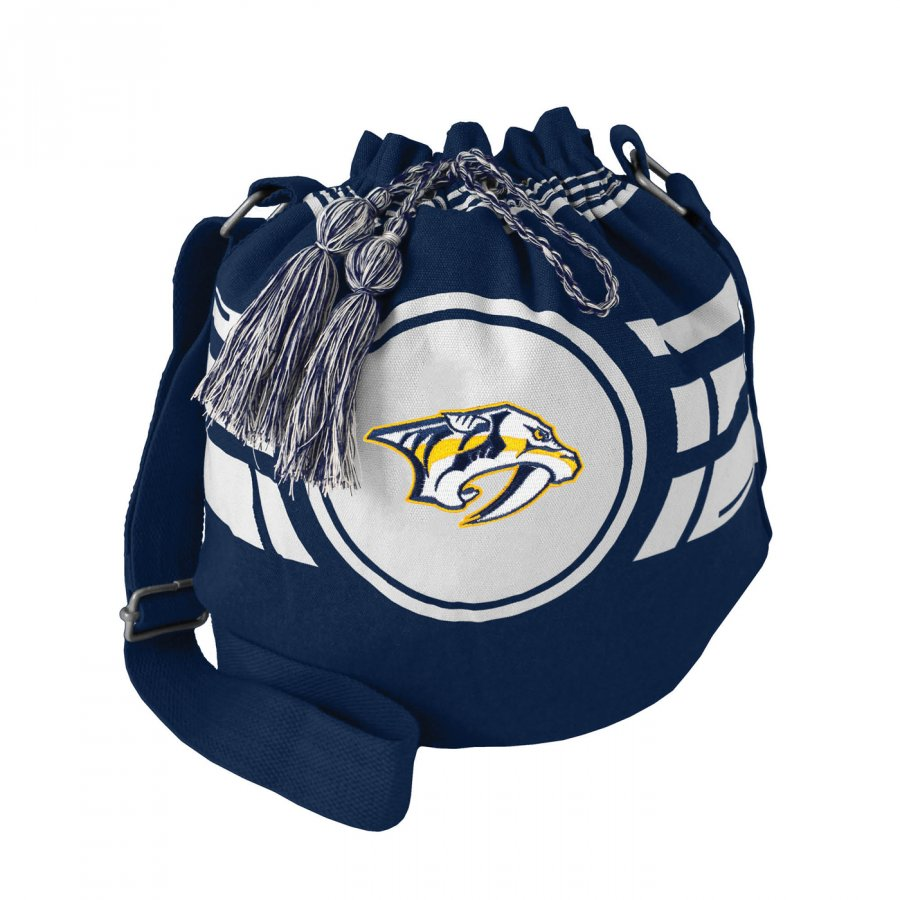 Nashville Predators Ripple Drawstring Bucket Bag