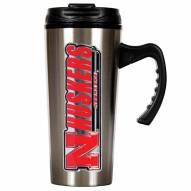 Nebraska Cornhuskers 16 oz. Stainless Steel Travel Mug