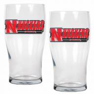 Nebraska Cornhuskers 20 oz. Pub Glass - Set of 2