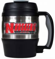 Nebraska Cornhuskers 52 oz. Stainless Steel Travel Mug