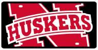 Nebraska Cornhuskers Acrylic Mega License Plate