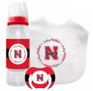 Nebraska Cornhuskers Baby Gift Set