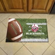 Nebraska Cornhuskers Blackshirts Scraper Door Mat