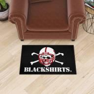 Nebraska Cornhuskers Blackshirts Starter Rug