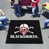 Nebraska Cornhuskers Blackshirts Tailgate Mat