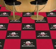 Nebraska Cornhuskers Blackshirts Team Carpet Tiles
