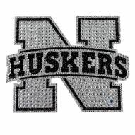Nebraska Cornhuskers Bling Car Emblem