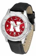 Nebraska Cornhuskers Competitor AnoChrome Men's Watch