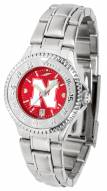 Nebraska Cornhuskers Competitor Steel AnoChrome Women's Watch