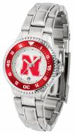 Nebraska Cornhuskers Competitor Steel Women's Watch