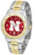 Nebraska Cornhuskers Competitor Two-Tone AnoChrome Men's Watch