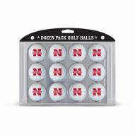 Nebraska Cornhuskers Dozen Golf Balls