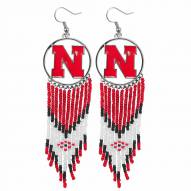 Nebraska Cornhuskers Dreamcatcher Earrings