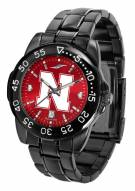 Nebraska Cornhuskers Fantom Sport AnoChrome Men's Watch