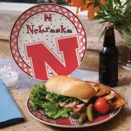Nebraska Cornhuskers Gameday Ceramic Plate