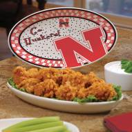 Nebraska Cornhuskers Gameday Ceramic Platter