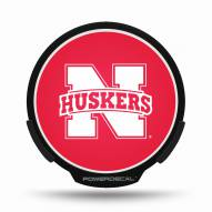 Nebraska Cornhuskers Light Up Power Decal