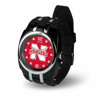 Nebraska Cornhuskers Men's Crusher Watch