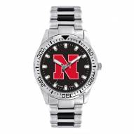 Nebraska Cornhuskers Men's Heavy Hitter Watch