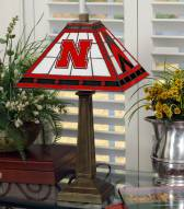 Nebraska Cornhuskers Mission Table Lamp