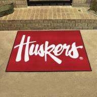 Nebraska Cornhuskers NCAA All-Star Mat