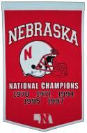 Winning Streak Nebraska Cornhuskers NCAA Football Dynasty Banner