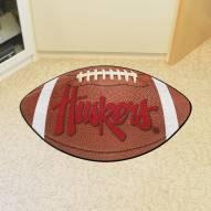 Nebraska Cornhuskers NCAA Football Floor Mat